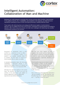 Intelligent Automation - Collaboration of Man and Machine