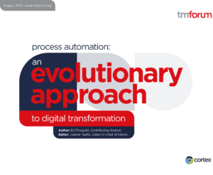 Process automation: An evolutionary approach to digital transformation