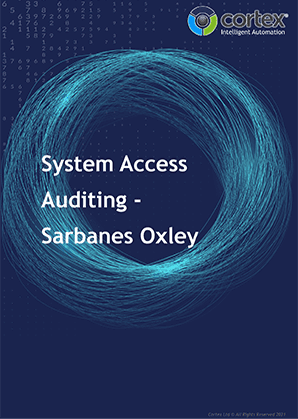 System Access Auditing- Sarbanes Oxley